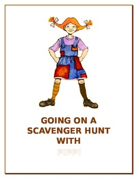 GOING ON A SCAVENGER HUNT WITH PIPPI LONSTOCKING