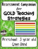 GOLD Teaching Strategies Assessments (Preschool)