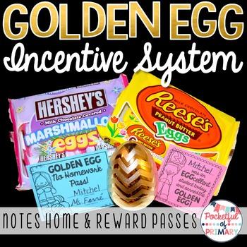 GOLDEN EGG - Spring Incentive System!