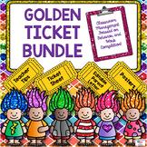 GOLDEN TICKET Behavior Plan Bundle