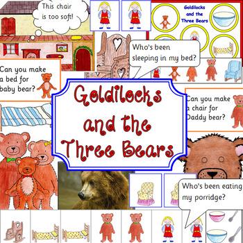 GOLDILOCKS book study activity pack