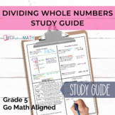 GOMath Chapter 2 Study Guide (Division with multiple strategies)