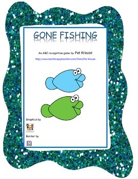 GONE FISHING - An ABC Recognition Game