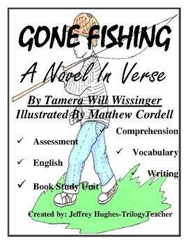 GONE FISHING CCSS Comprehension, Vocabulary, English, Assessment Book Unit