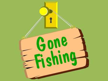 GONE FISHING - writing a narrative series