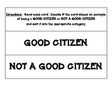 GOOD CITIZEN ... OR NOT? SORTING CENTER - CITIZENSHIP