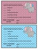 GOOD CITIZENSHIP AWARDS - ELEPHANT THEME - Freebies