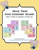 GOOD CITIZENSHIP AWARDS - MOUSE THEME