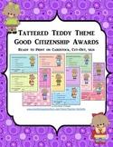 GOOD CITIZENSHIP AWARDS - TATTERED TEDDIES THEME
