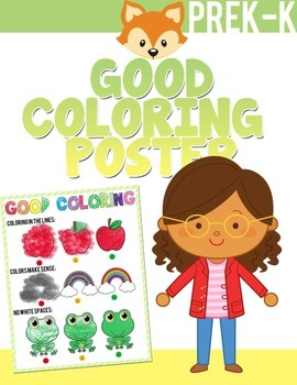 GOOD COLORING POSTER