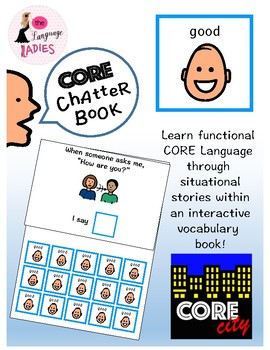 GOOD: Interactive CORE City Chatter Book