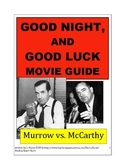 GOOD NIGHT, AND GOOD LUCK Movie Guide