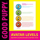 Behavior Avatar Levels . Child Behavioral & Emotional Tool