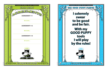 SCHOOL - SAMPLE - GOOD PUPPY® Children Behavioral System
