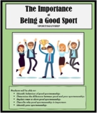 GOOD SPORT -  Teamwork -  Sportsmanship - Teams - Life Skills