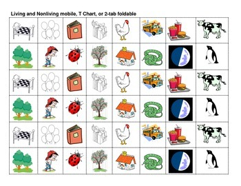 GOODS & SERVICES EASTER MOBILE- NEEDS & WANTS - LIVING & NONLIVING