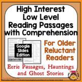 GOOGLE 20 High Interest Low Level Reading Passages: Haunti