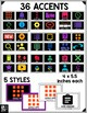 Bulletin Board Editable Classroom Decor: 36 GOOGLE Apps Icons