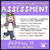 DIGITAL 4th Grade Journeys READING ASSESSMENT- UNIT 4 Lesson 19 Harvesting Hope