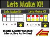 Let's Make 10! GOOGLE CLASSROOM ACTIVITY!