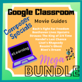 GOOGLE CLASSROOM Composer Specials Movie Guides (Distant Learning)