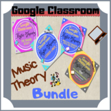 GOOGLE CLASSROOM Music Theory Bundle #3 Distant Learning