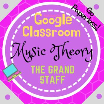 GOOGLE CLASSROOM - Music Theory - The Grand Staff