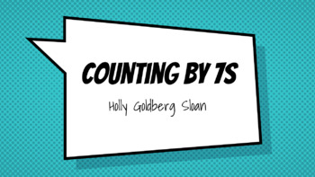GOOGLE DRIVE: Counting by 7s Novel Study Unit Hyperdoc