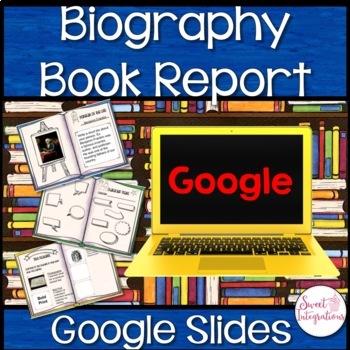 GOOGLE DRIVE™ EDITABLE BIOGRAPHY BOOK REPORT