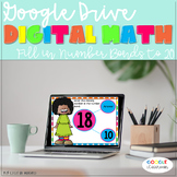 GOOGLE DRIVE INTERACTIVE MATH Fill in Number Bonds *DIGITA