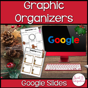 DIGITAL GRAPHIC ORGANIZERS WITH HOLIDAY THEME: GOOGLE DRIVE™