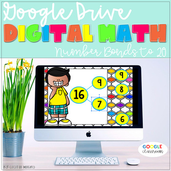 GOOGLE DRIVE INTERACTIVE MATH Number Bonds to 20  *DIGITAL MATH CENTERS*