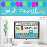 GOOGLE INTERACTIVE Word Family Word Work K-2 *DIGITAL LITERACY CENTERS*