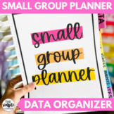 Small Group Planner | Printable and Digital Lesson Plan Templates
