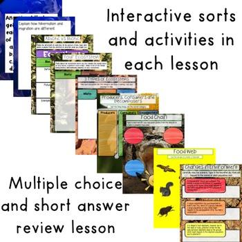 GOOGLE Ecosystems Unit No Prep Digital Interactive Lessons