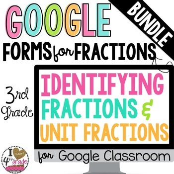 GOOGLE FORM Bundle for Fractions