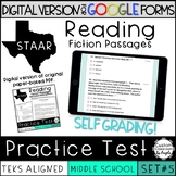 GOOGLE FORMS Comprehension Passages with multiple choice questions - Set 5