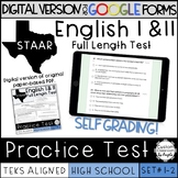 GOOGLE FORMS English I & II STAAR Reading Practice Test - Sets 1-2