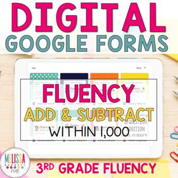 GOOGLE FORMS Fluency Bundle
