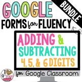 GOOGLE FORMS Fluency Mega Bundle
