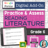 GOOGLE FORMS Literature Assessments and Practice Worksheet
