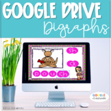 GOOGLE CLASSROOM Digraph Word Work  Distance Learning