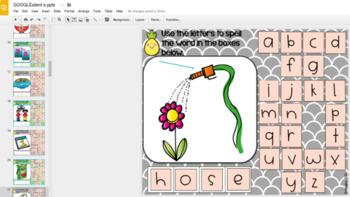GOOGLE INTERACTIVE Long Vowel Word Work