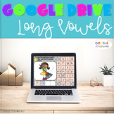 GOOGLE CLASSROOM Long Vowel Word Work Distance Learning
