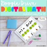 GOOGLE INTERACTIVE Math Centers Addition  K-2 *DIGITAL MAT