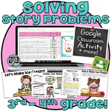 GOOGLE - One and Two Step Word Problems for 3rd or 4th gra
