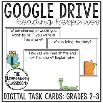 GOOGLE Reading Responses (Differentiated-Grades 2-3!)