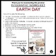 GOOGLE SLIDES EARTH DAY INFOGRAPHIC (INTERACTIVE OR PRINT)