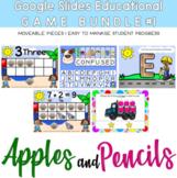 GOOGLE SLIDES EDUCATIONAL GAMES BUNDLE #1