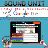 GOOGLE Sound Unit No Prep Digital Interactive Lessons